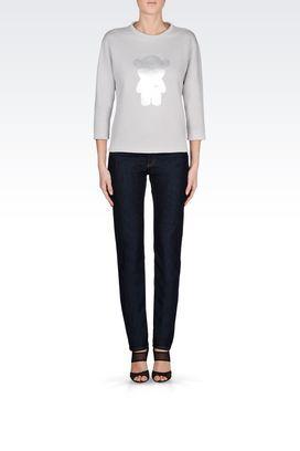t Shirts Et Sweats Emporio Armani Femme sur Emporio Armani Online Store