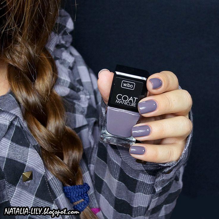 natalia-lily: Beauty Blog: WIBO 1 COAT MANICURE NR 12 | Nie taki zwykły szaraczek...