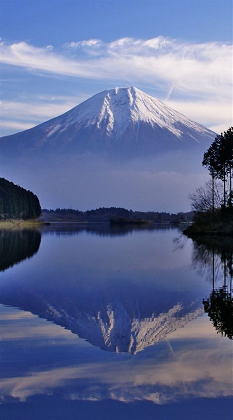 Mount Fuji, Japan #BeautifulNature #Reflections #NaturePhotography #Nature #Photography #Travel #Japan