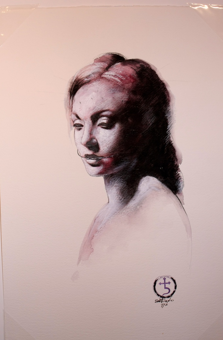 Drawing by Saturno Butto -  Italian Artist