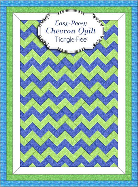 17 Best ideas about Chevron Quilt on Pinterest Chevron quilt pattern, Easy quilt patterns and ...