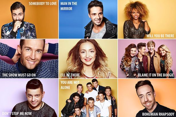 X Factor 2014: Queen vs Michael Jackson song list revealed - Mirror Online