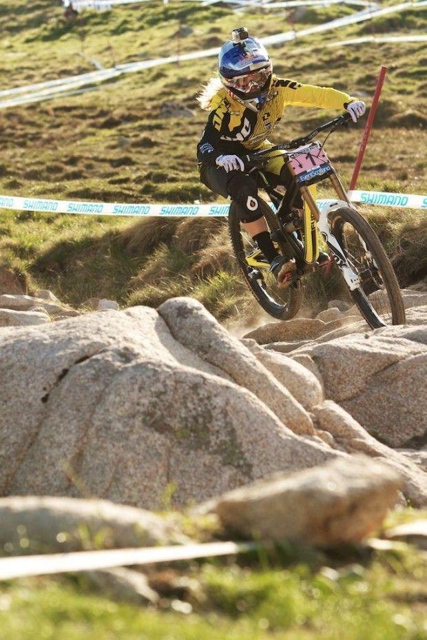 Mountain bike skills: How to conquer your fear! #mountainbiking #women #fear