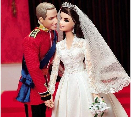 William and Kate: Barbie Girls, Prince Williams, Barbies, Royal Weddings, Kate Middleton, Things, Kate Barbie, Barbie Dolls, Royals Wedding
