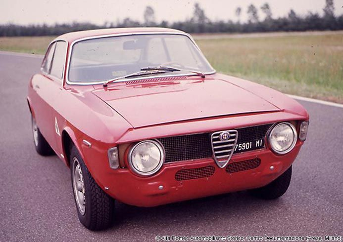 1965 Alfa Romeo Giulia GT Alfa Romeo setting up their most iconic period with this gem
