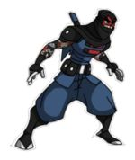 Costume path of the ninja