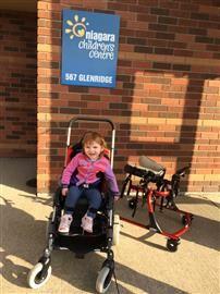 Raising awareness and helping kids like Julia! Raising money for the NiagaraChildren'sCentre