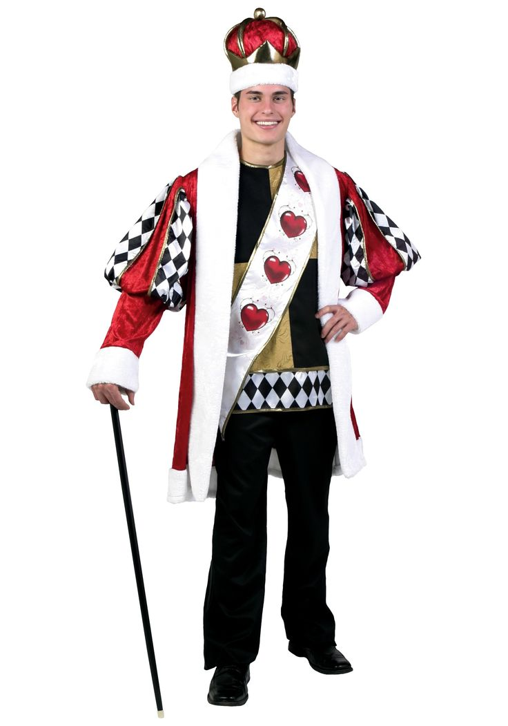 King of Hearts Costume Disney | Queen of Hearts Costume Plus Size