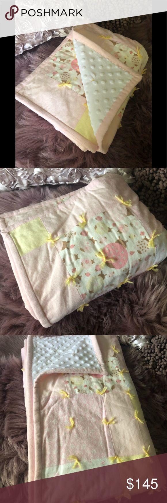 Pink Lady Bug Love 🐞🌸💕 Pink ladies, Baby crib quilt, Pink