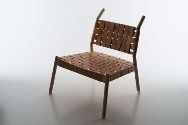 """""""ANDHERE"""" BY SARAH MARIA NIELSEN beautiful lounge chair inspired by the wheelbarrow"""