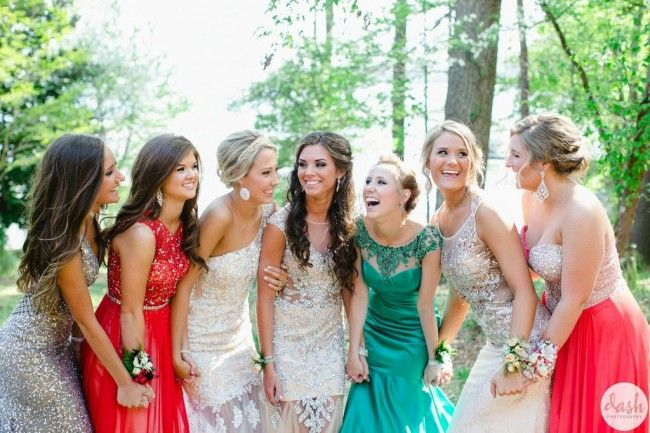 Prom Group Picture Idea | Girl Group