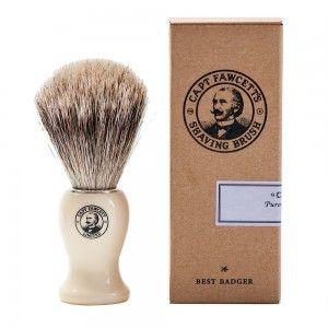 Pędzel do golenia z włosia borsuka - Captain Fawcett