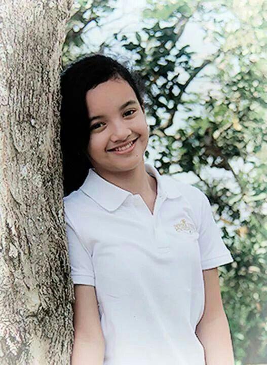 This beautiful girl is my niece, JASMINE PUTRI NABILA