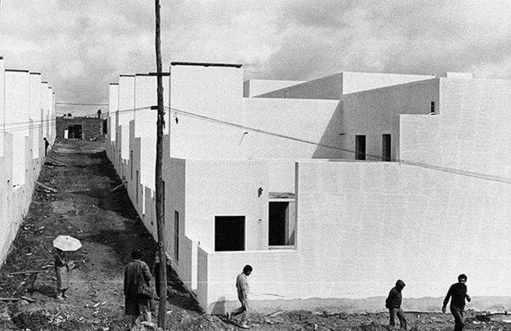 Quinta da Malagueira in Évora by Álvaro Siza (1977-1998