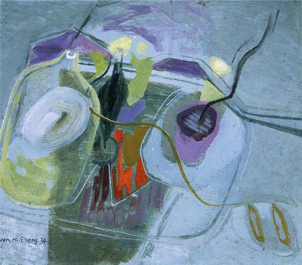 Ivor Hitchens - Abstract, Spring Mood.