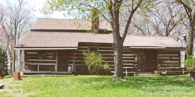 This family settled the area in 1832! Hester's Log Cabins in Walkerton, #Indiana