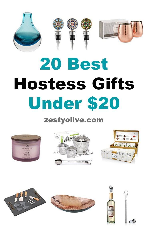20 best hostess gifts under 20 zesty olive simple