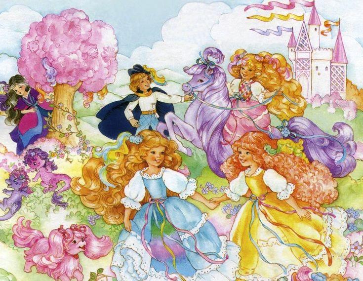 Dame Boucleline et les mini couettes est un dessin animé produits par les studios DIC dont la première diffusion date de 1987 dans l'émission Cabou Cadin.