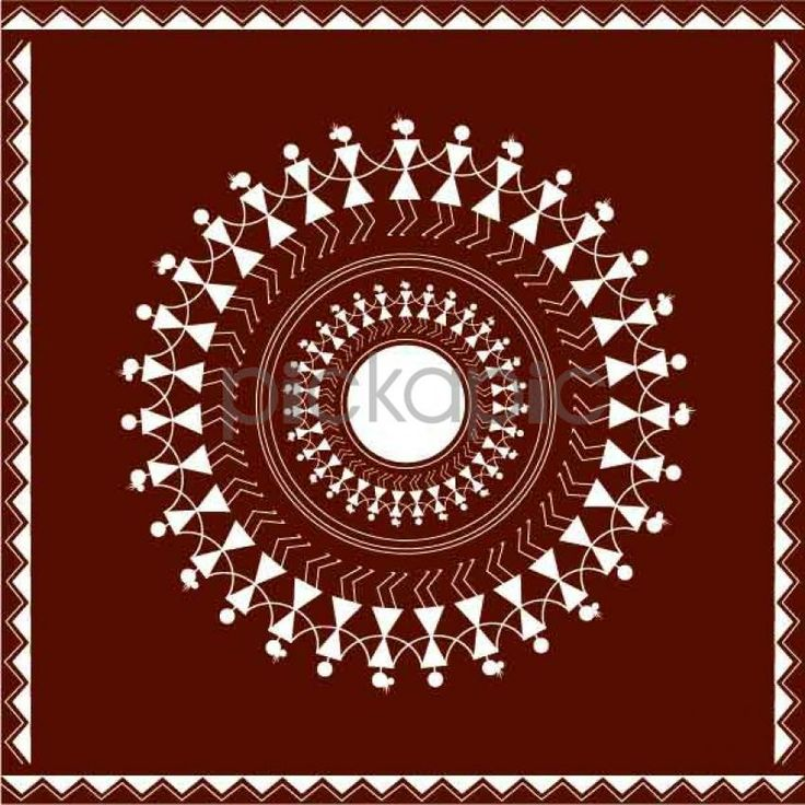 Traditional Indian Kitchen Design: Traditional Indian Warli Designs To Add The Desi Touch To
