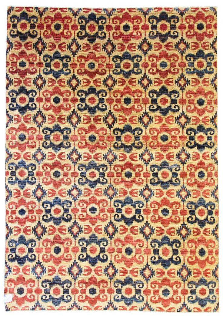 Hand knotted oriental carpet by Ziegler Gabbeh. 271x199cm
