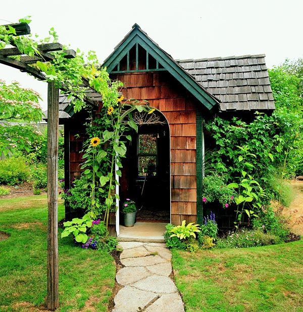 Best Cedar Shingle Shed Project Plan 503486 Gardens A Well And Reading Room 400 x 300