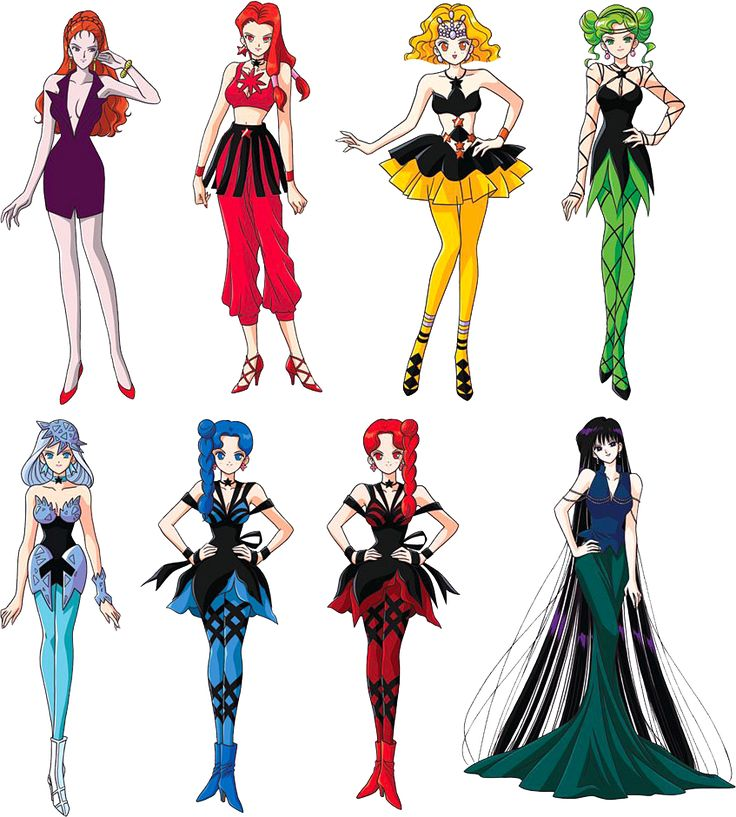 Sailor Moon S Death Busters, Witches 5