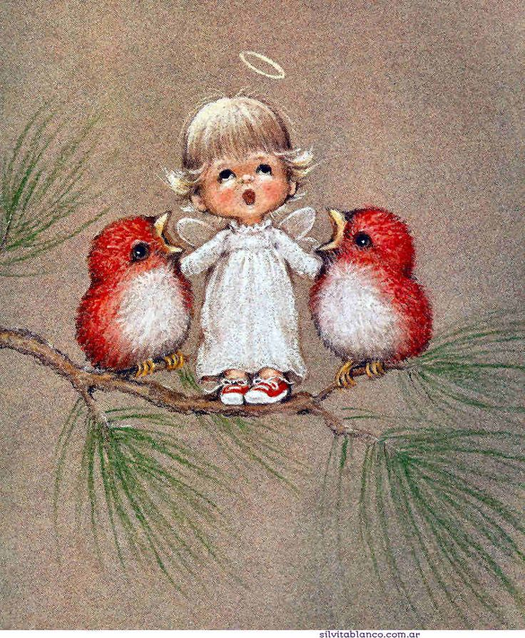 ❤️Little Angels ~ Artist Ruth Morehead
