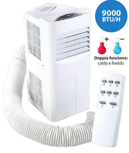 Se non avete la possibilità di avere in casa o in ufficio dei condizionatori a muro potete sempre optare per un ottimo ventilatore o un pratico condizionatore portatile.