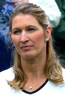 June 14, 1969 ♦ Steffi Graf, former German tennis player, who was ranked world No. 1 during her career.