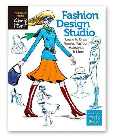 Love this Fashion Design Studio Paperback on #zulily! #zulilyfinds