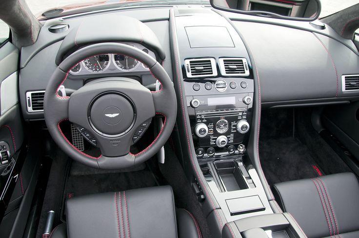 Interior Of Aston Martin DB8