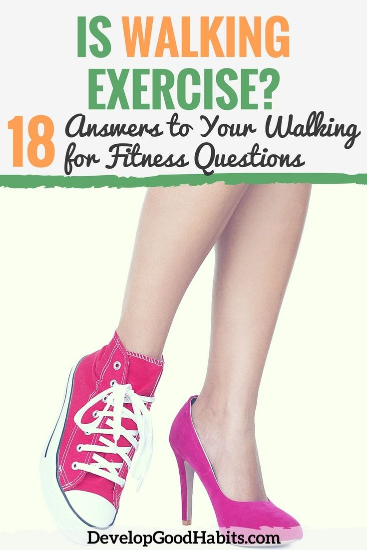 Is walking exercise --18 Answers to Your Walking for Fitness Questions