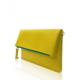 Tas Wanita - Pitta Clutch Yellow