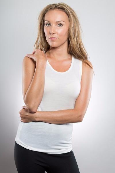 Merino Womens Singlet Vest- From Merino With Love.  100% Merino Made In New Zealand - https://www.smartmerino.co.nz/collections/womens