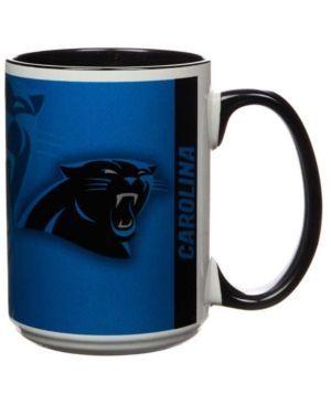 Carolina Panthers 15oz Super Fan Inner Color Mug - Blue