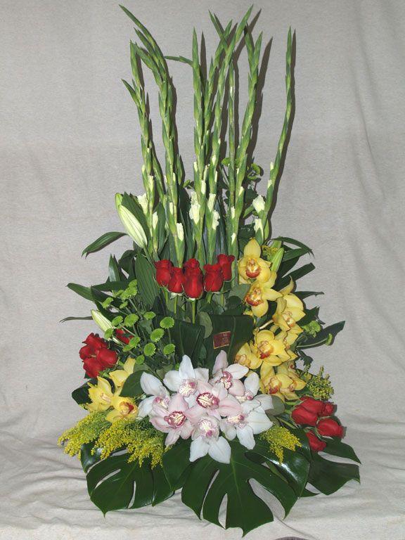 Centro De Flores Y Orquideas Arreglos Florales