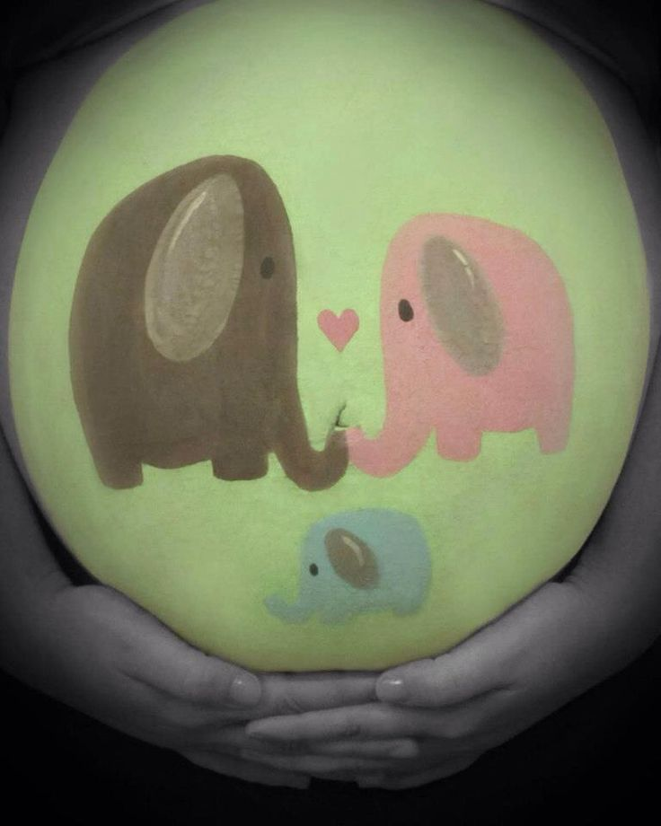 Pregnant Belly Painting I Did #pregobelly #bellypainting @lishelleanne