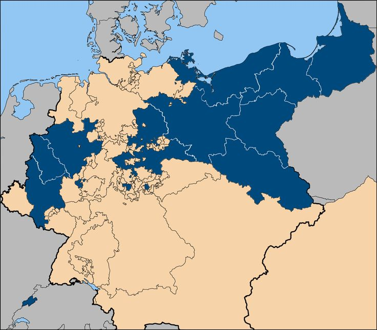 Best German Confederation Ideas On Pinterest Ancient Jewelry - Germany map lands