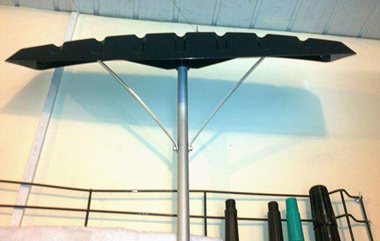 Скрепер для крыш с телескопической ручкой