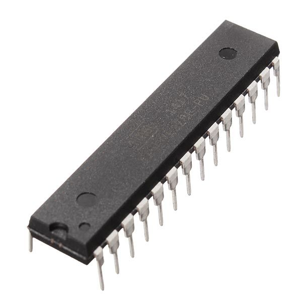 5Pcs DIP28 ATmega328P-PU Microcontroller IC Chip With Arduino UNO Bootloader  Feature:  Core version: UNO XTL: Outside 16MHZ Working voltage: 5V  Note:  Suitable for Arduino UNO R3 and Arduino 2011 UNO development board.  Package included:  5 x ATmega328P-PU Microcontroller