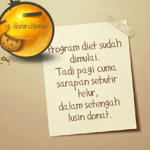 Diet ketat, seketat kaosnya jupe #textgram #quotes #quotesindonesia  #humor #lucu #diet