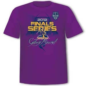 Don't miss out on the 2012 NRL Finals Series Tee. Get yours now! $30