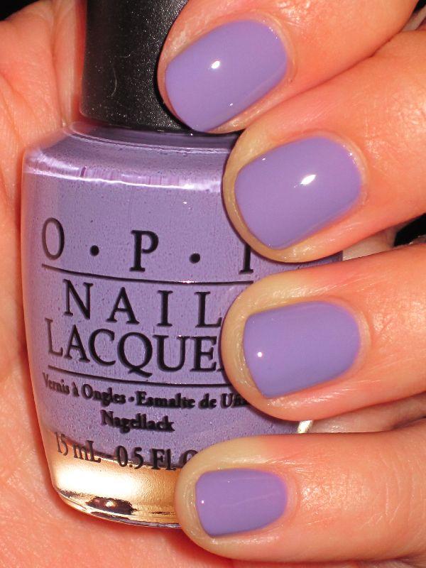 OPI nail polish: Polish Girls, Pastel Purple, Shades Of Purple, Nails Colors, Spring Colors, Purple Nails, Opi Nails, Easter Eggs, Nails Polish Colors