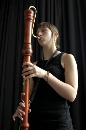 Large wooden recorder