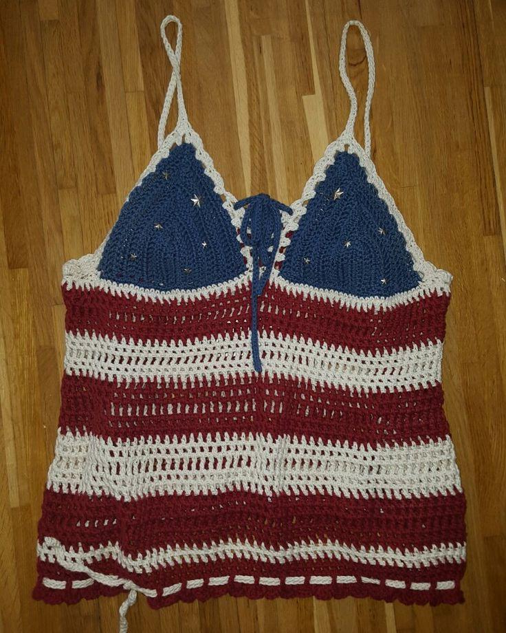 4th of july crochet dress