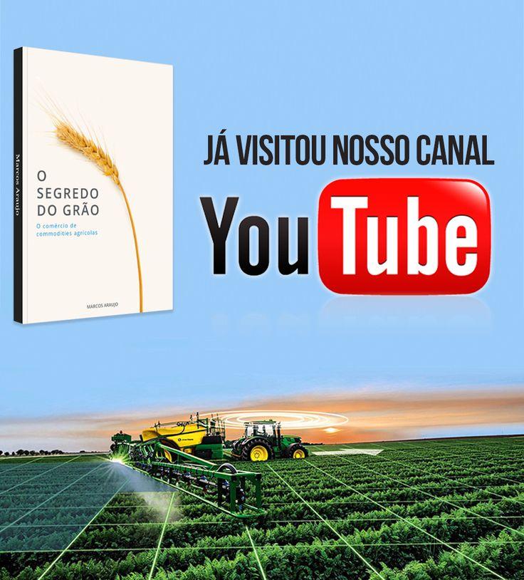 """No canal do Youtube você encontra entrevistas e bate papo sobre o livro """"O Segredo do Grão. Acesse e se inscreva. ->www.youtube.com/watch?v=uJ_UH60Nisw"""