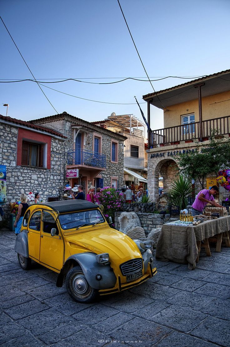 Afytos Village, Halkidiki, Greece