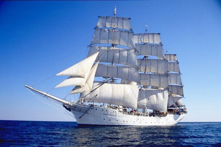 Tall ship Christian Radich under sail - Trois-mâts — Wikipédia