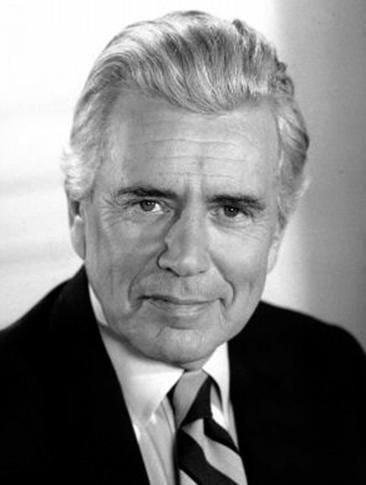 John Forsythe.  I just discovered a show he played in about 1958 called the bachelor father....what a great show!