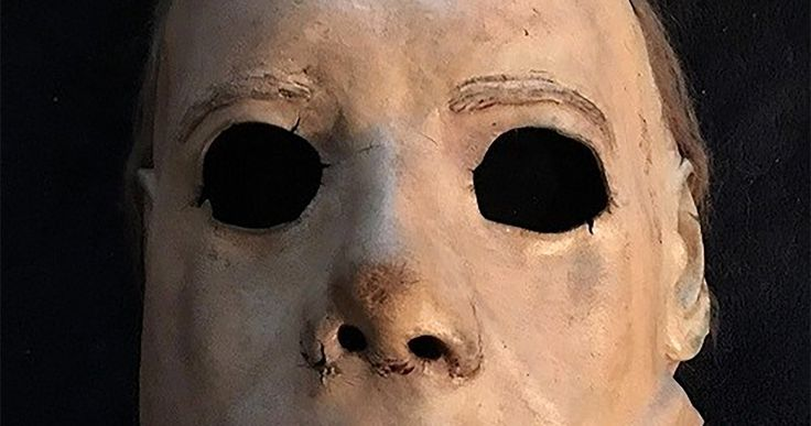 Original Michael Myers Mask from Halloween Unearthed -- After more than a decade, the original mask that Michael Myers wore in the first two Halloween movies has resurfaced. -- http://movieweb.com/halloween-michael-myers-mask-original-hero/